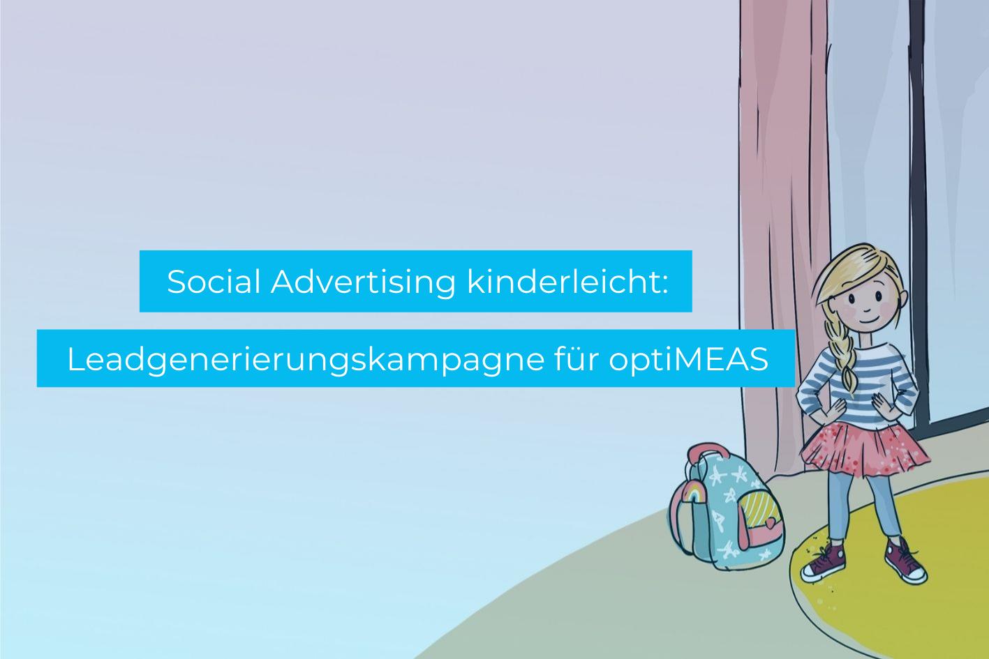 Social Advertising für optiMEAS - Social Media