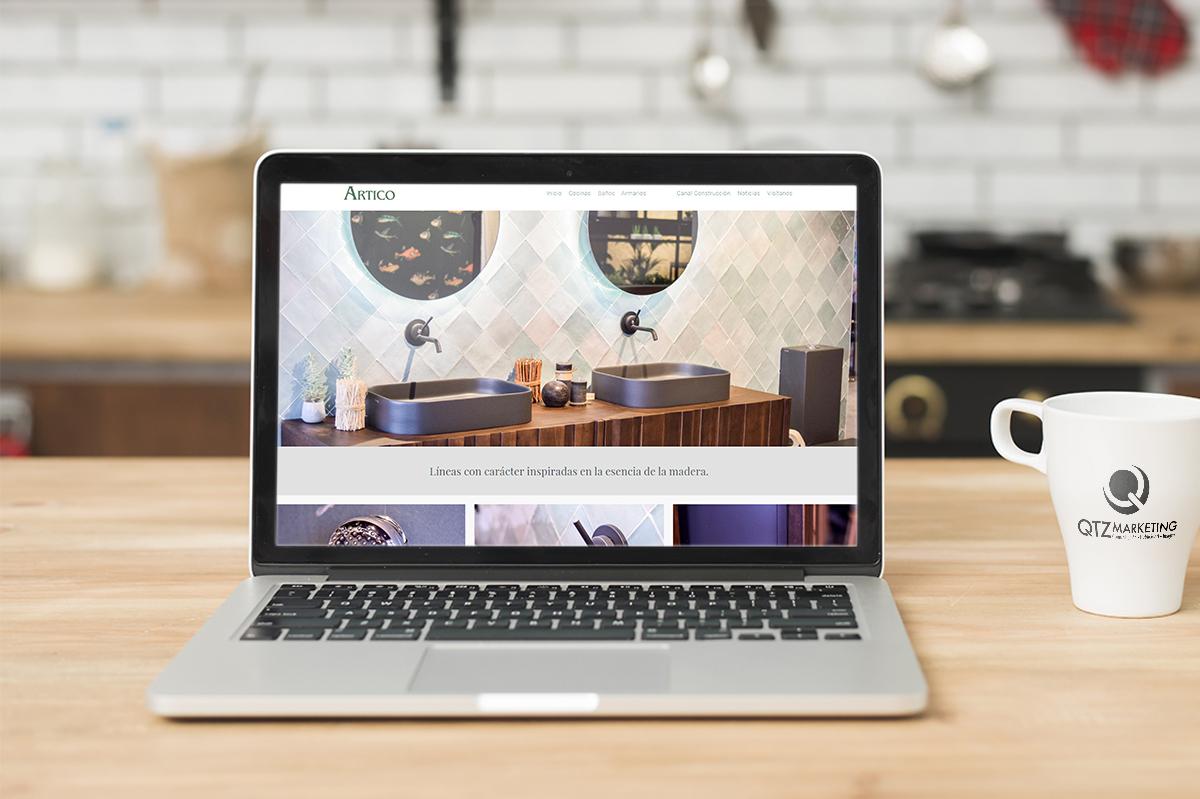 Diseño y desarro Web   Artico Mobiliario - Creación de Sitios Web