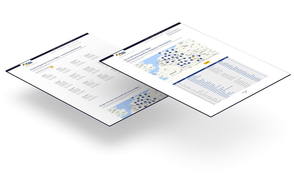 WordPress Website mit Firmenverzeichnis - Webseitengestaltung