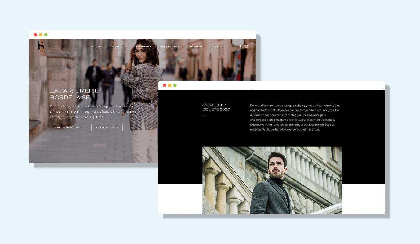 Parfumerie Bordelaise - Publicité en ligne