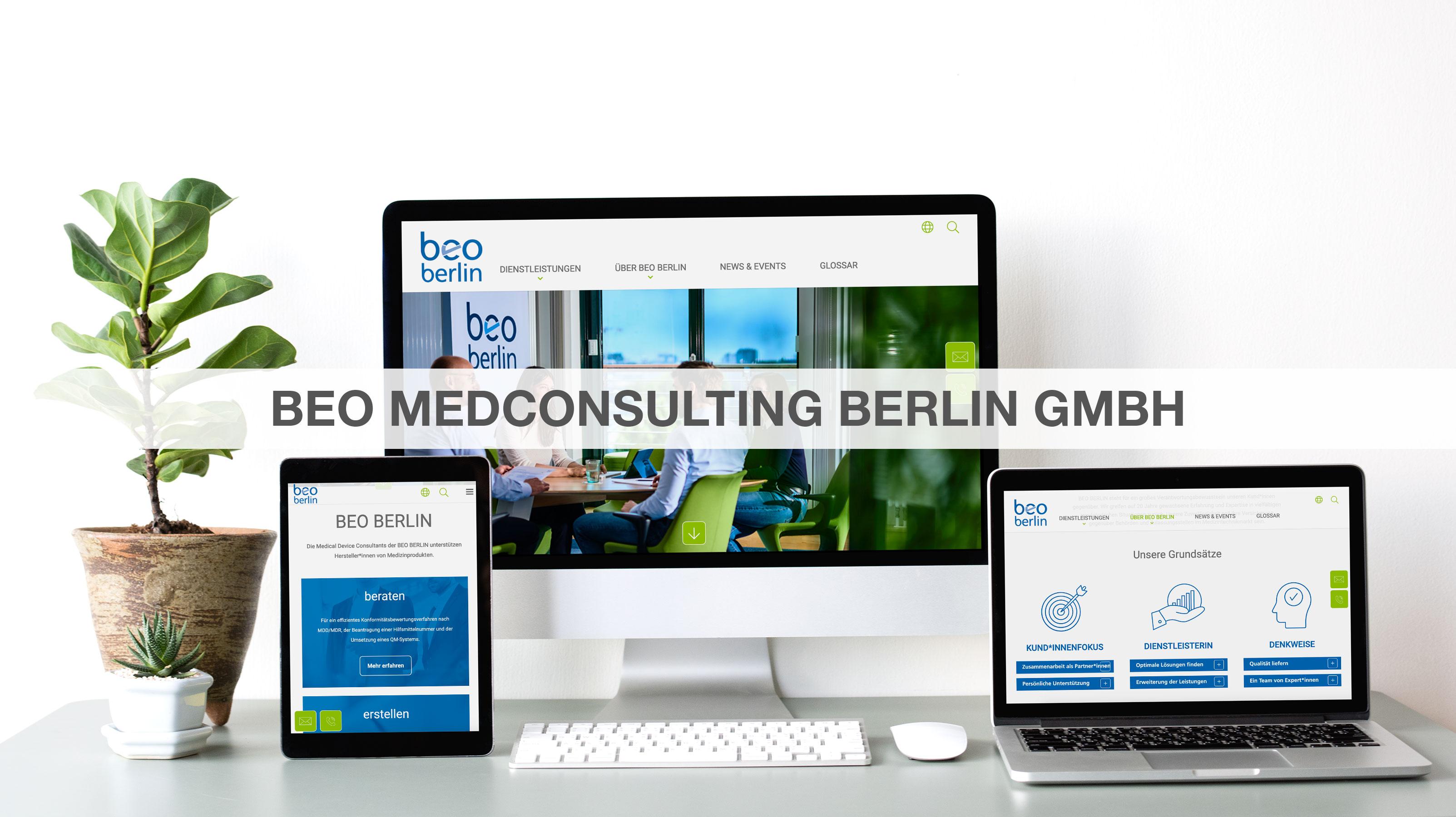 BEO MedConsulting Berlin GmbH - Markenbildung & Positionierung
