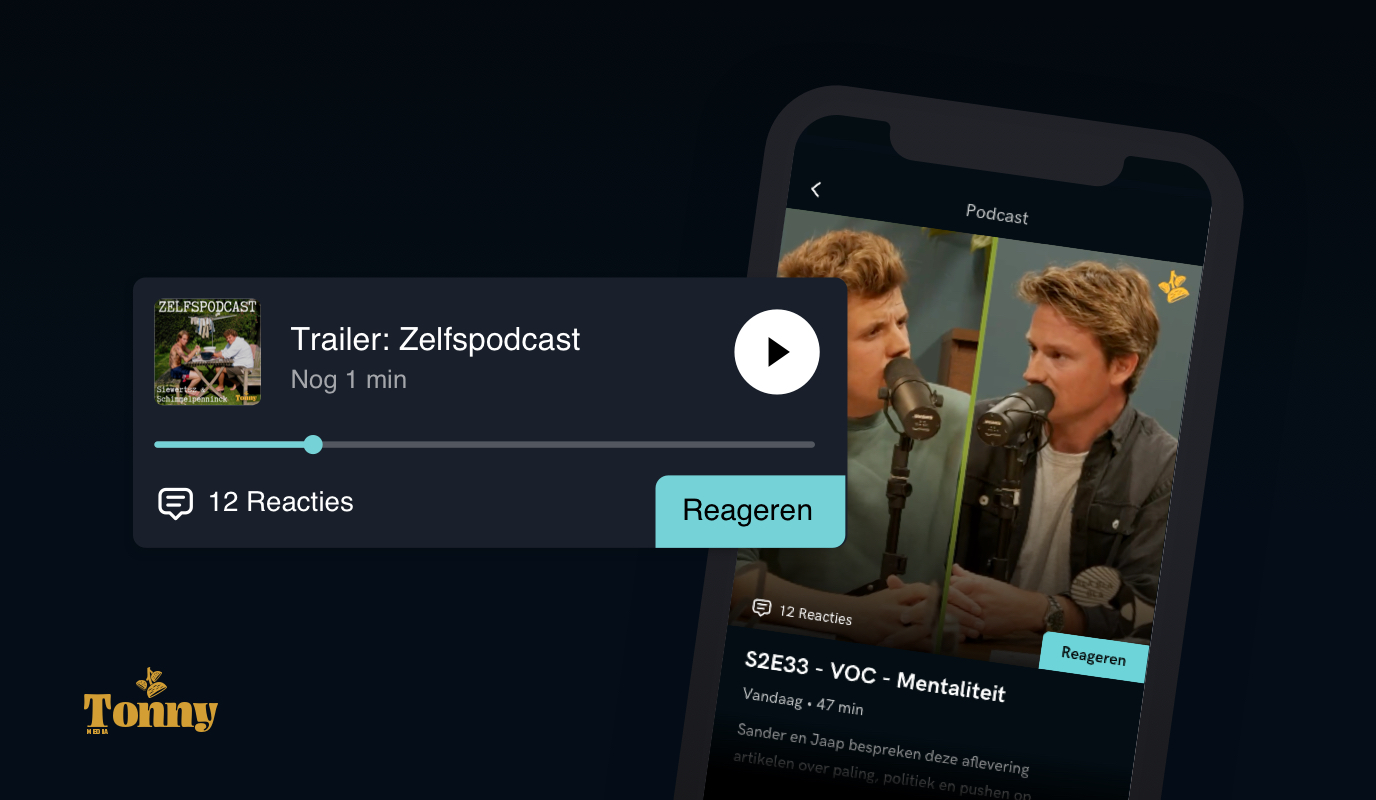 Zelfspodcast: Podcast platform - Web Applicatie
