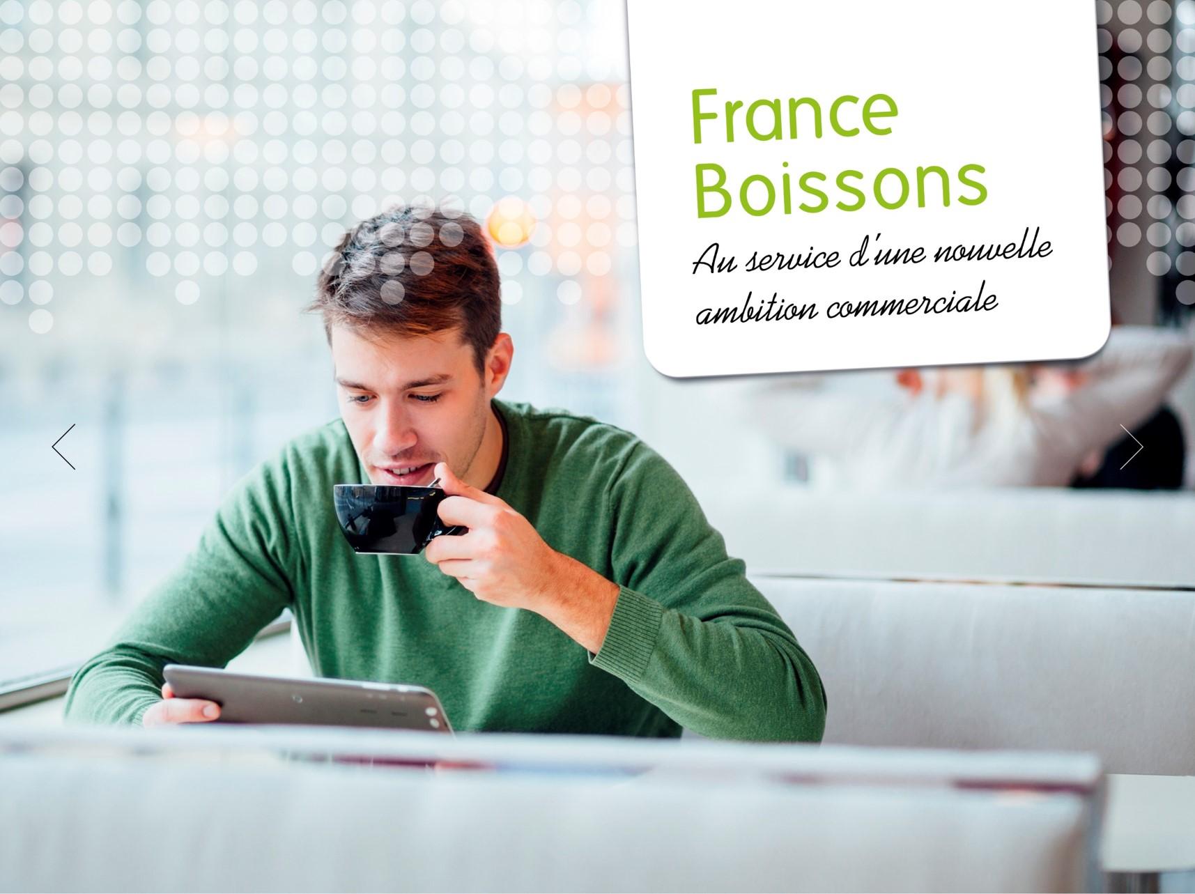 FRANCE BOISSONS : Data-Driven Marketing - Stratégie digitale