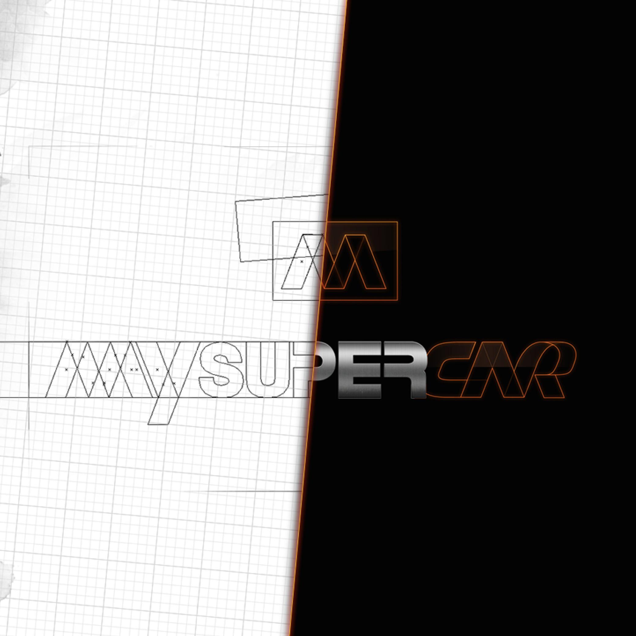 IDENTITÉ VISUELLE - MY SUPER CAR - Image de marque & branding