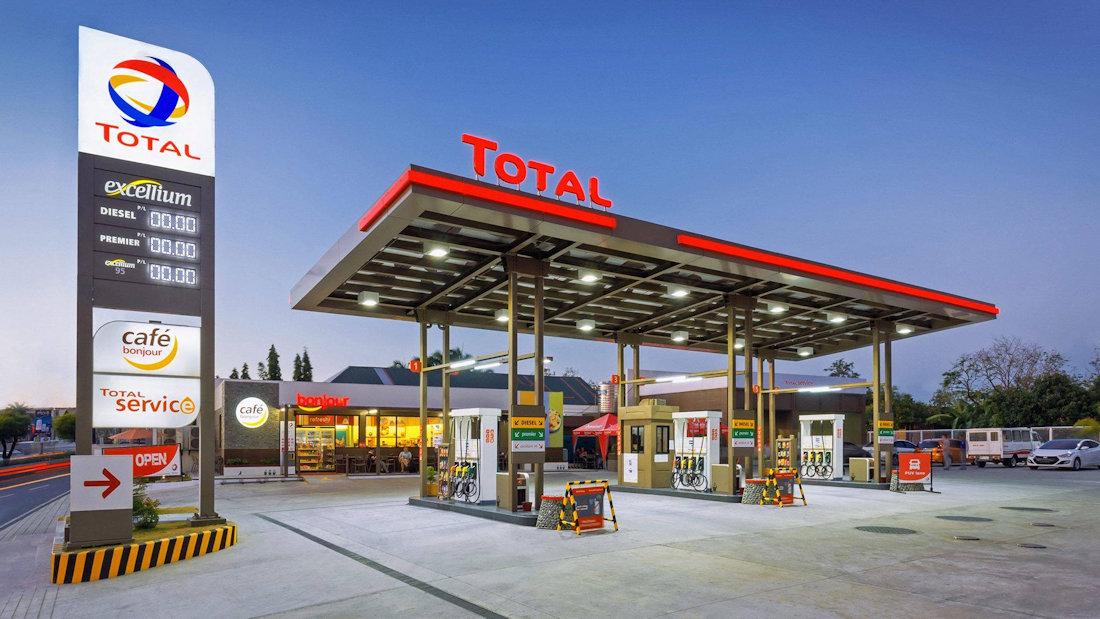 TOTAL GAS STATION BRANDING - Branding & Positioning