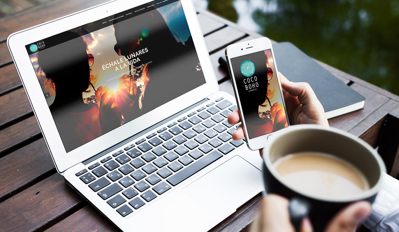 Diseño Identidad y página web eventos - E-commerce