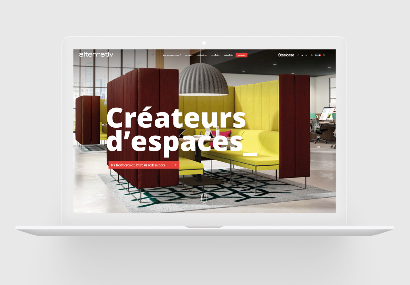 Alternativ - Création de site internet