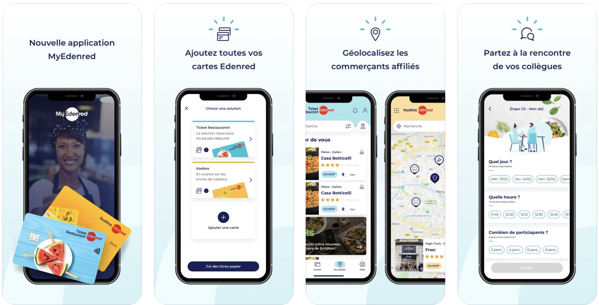 MyEdenred   Audit mobile - Application mobile