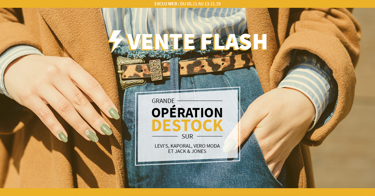 Stratégie d'acquisition (SEA) - Destock Jeans - Publicité en ligne