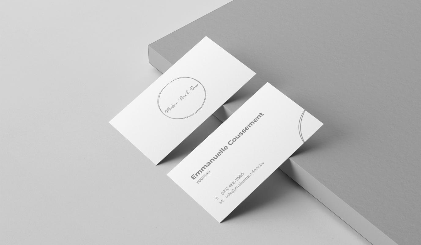 Maker Next Door - Logo, Identité & carte de visite - Design & graphisme