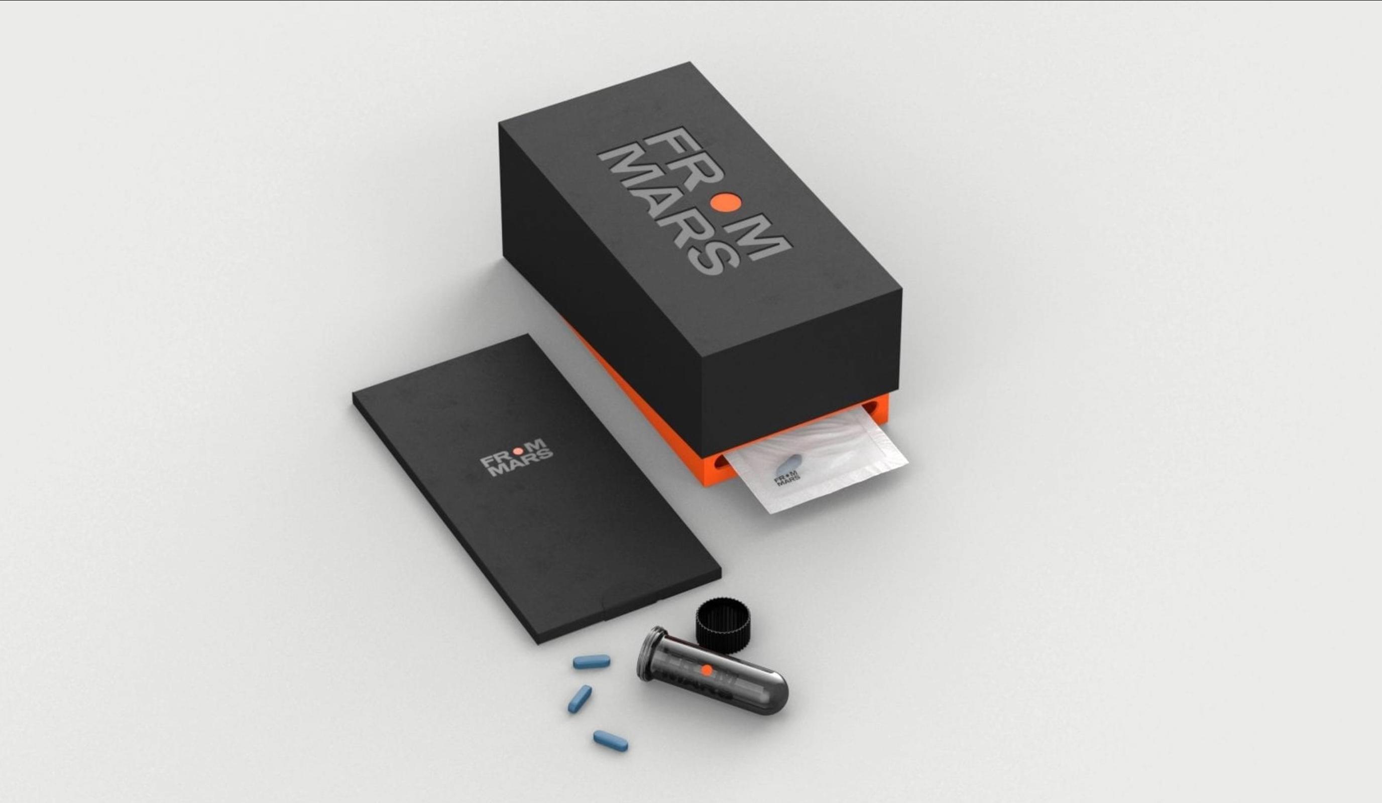From Mars - Packaging - Branding & Positionering
