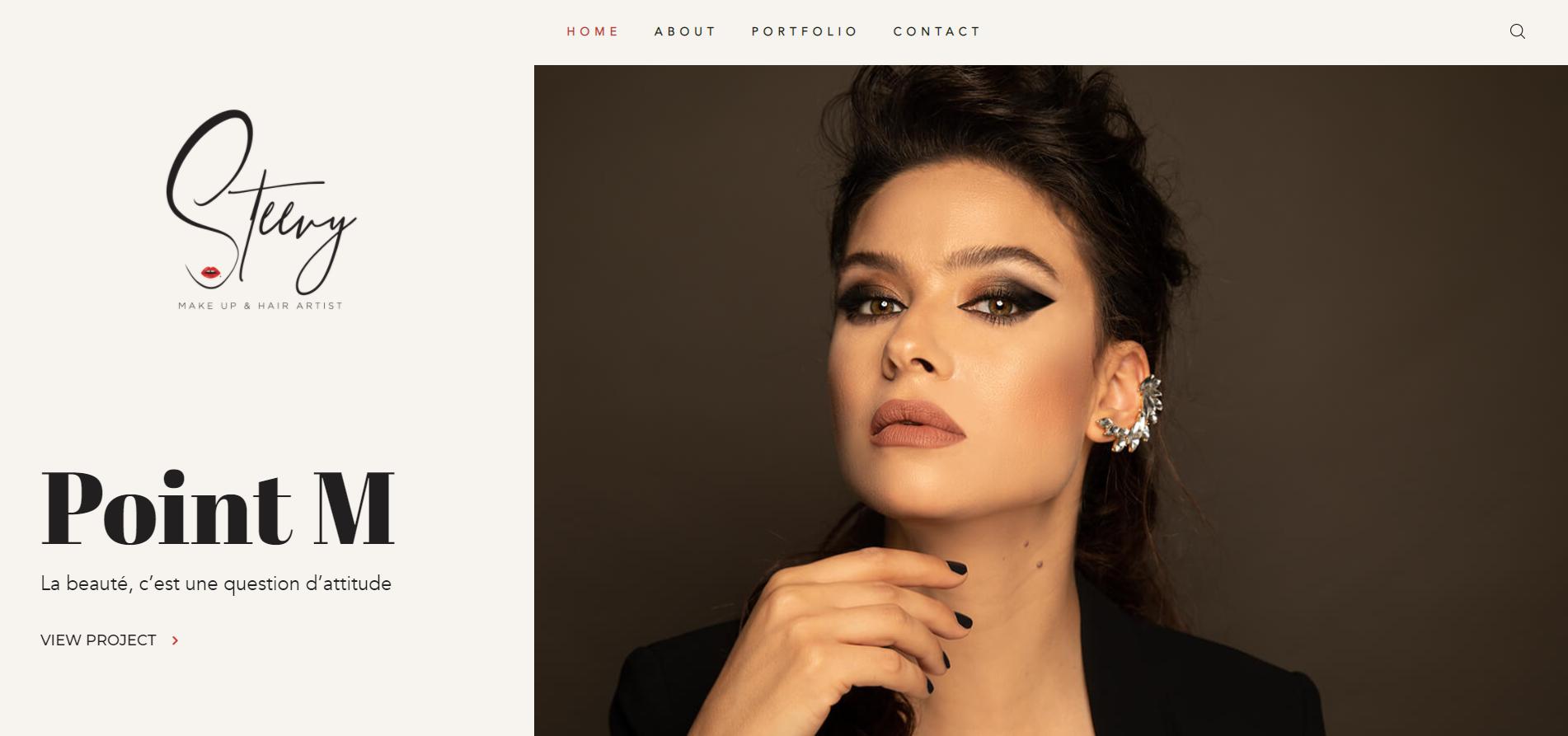 Artist Website Creation