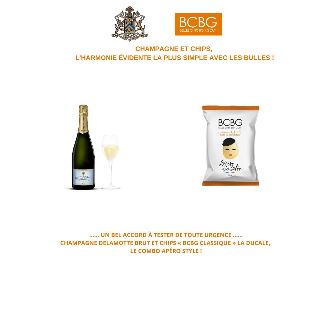 Portage Influenceurs Champagne Delamotte&Chips