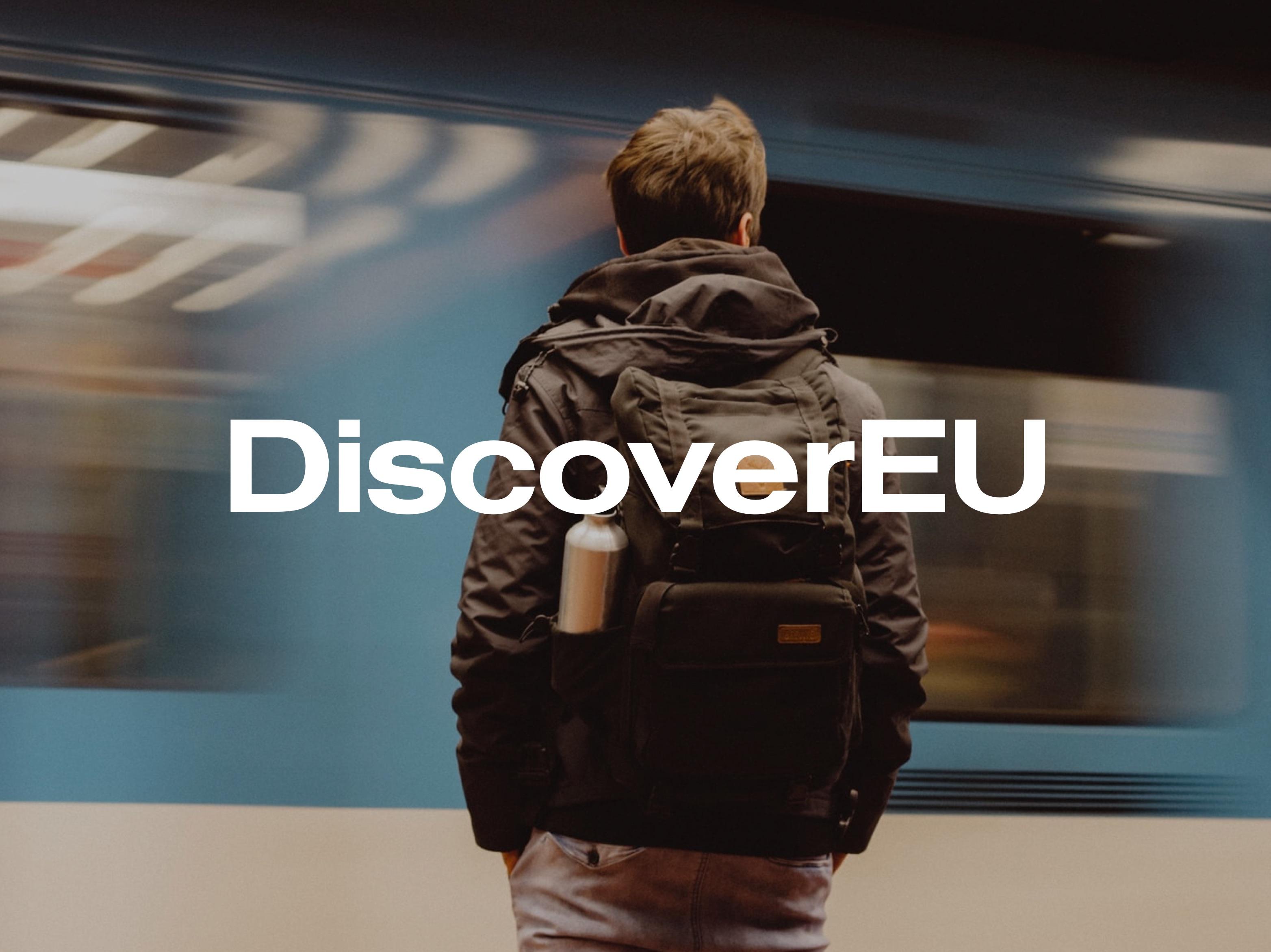 DiscoverEU - Création de site internet