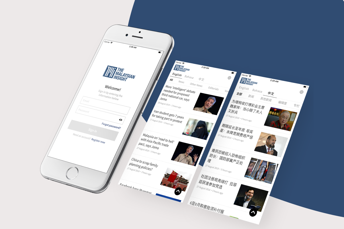The Malaysian Insight - Mobile App