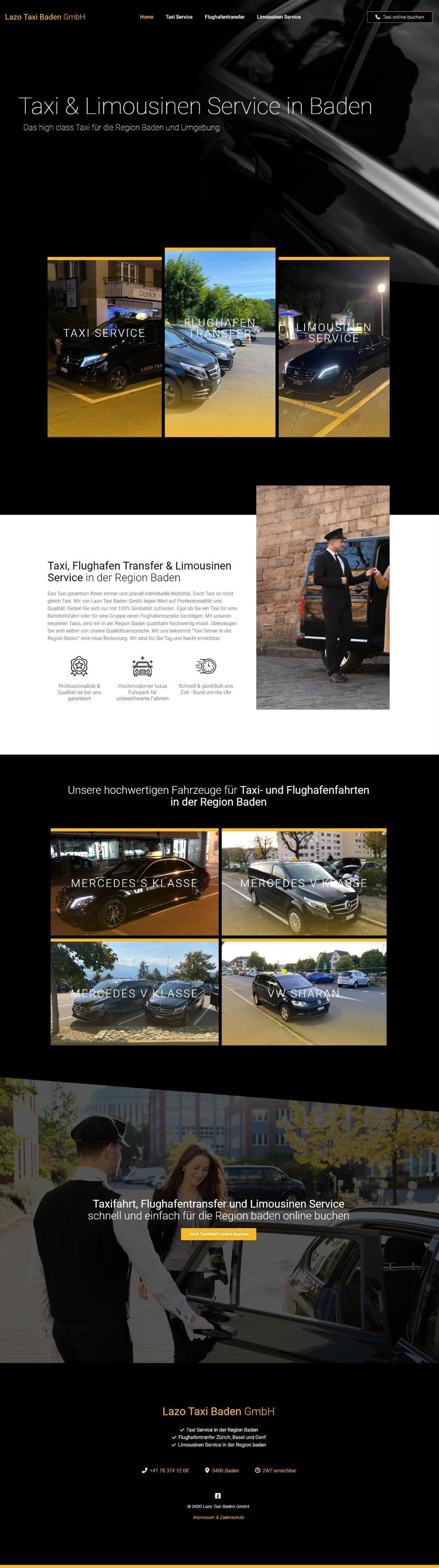 Lazo Taxi Baden GmbH - Baden, Schweiz