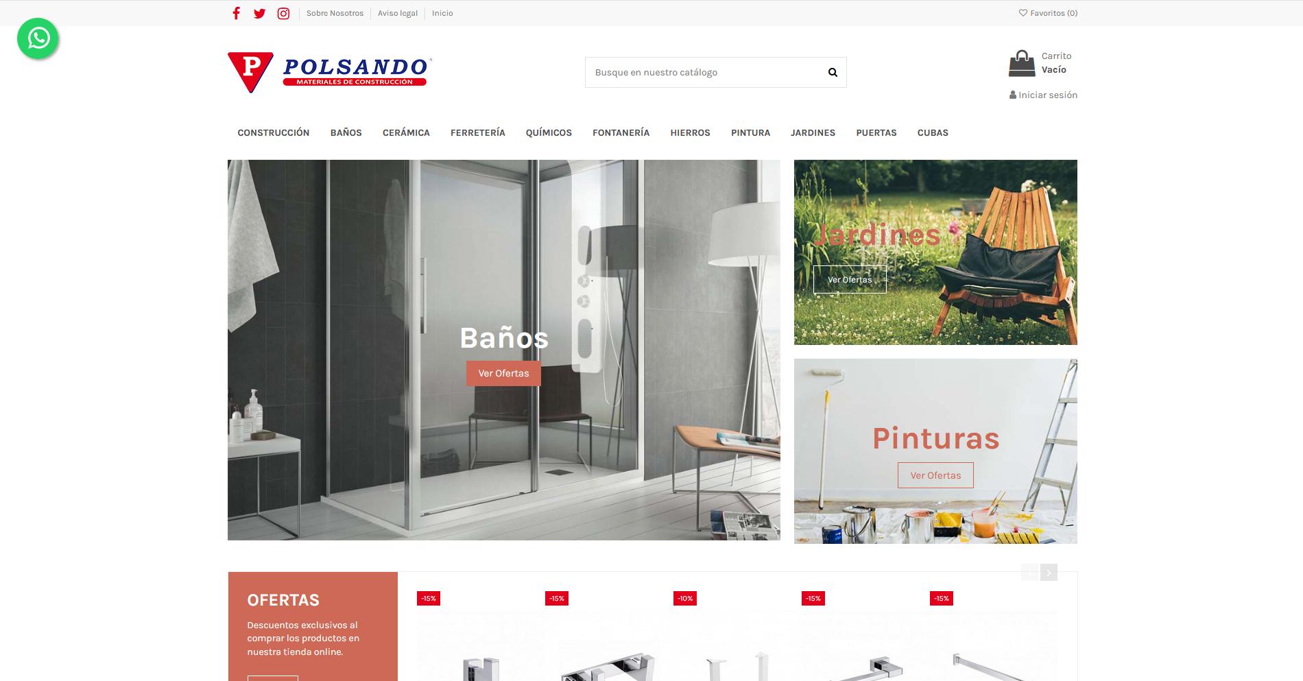 Tienda Online material de construcción