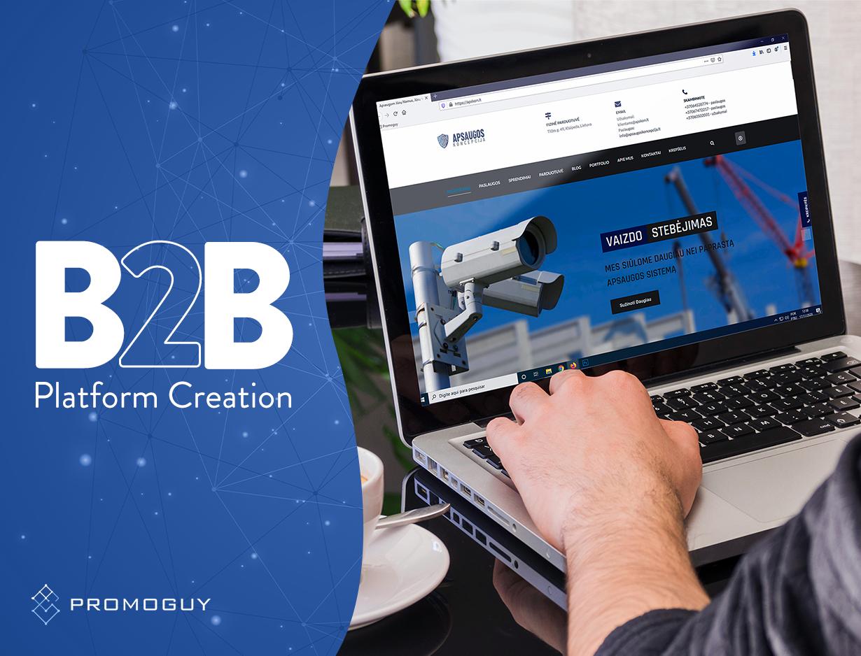 B2B Platform Creation - SEO