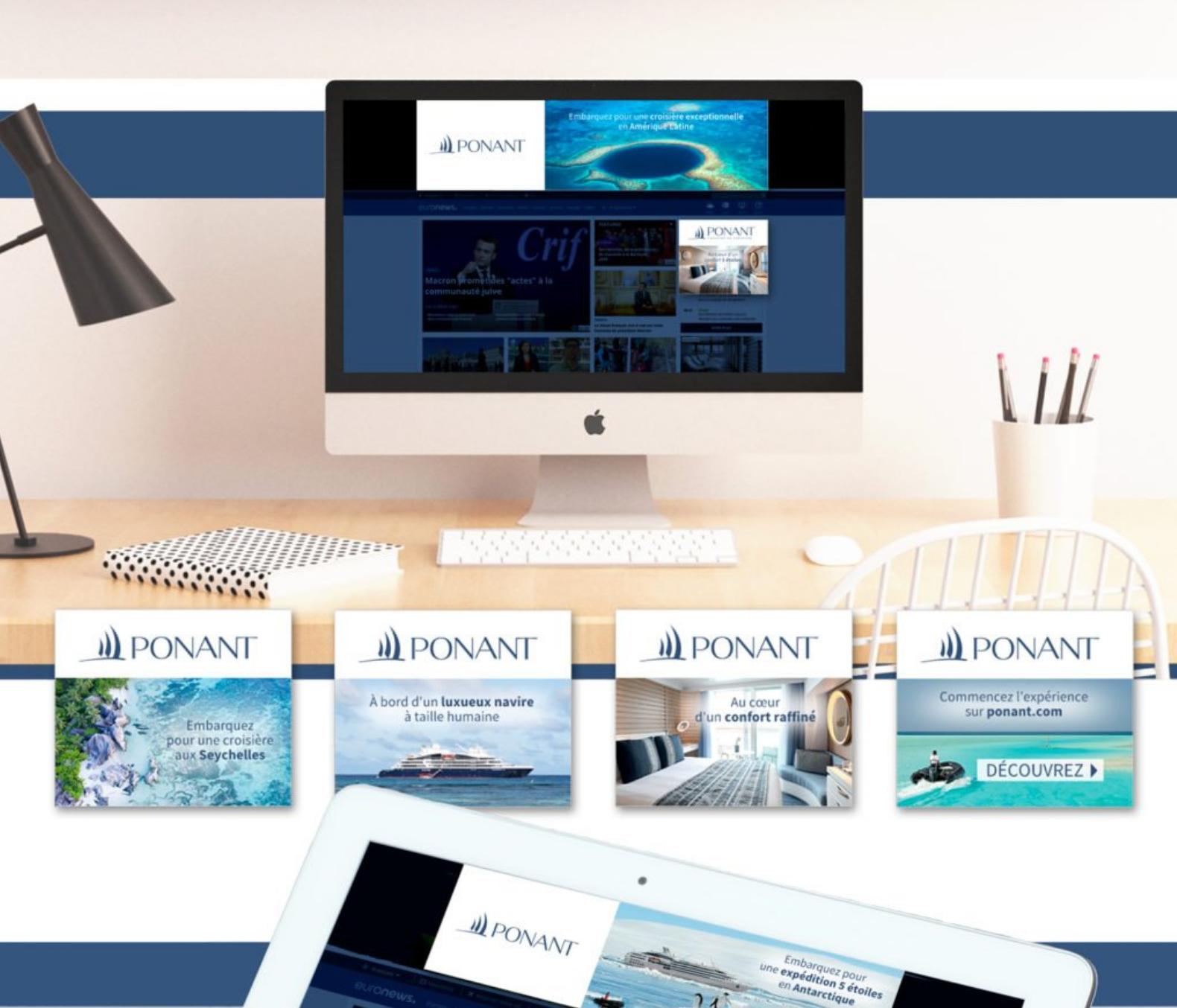 PONANT | Campagne digitale