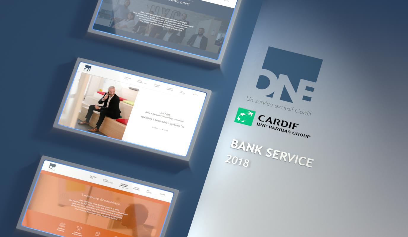 BNP Cardif / Générer des leads - Application web
