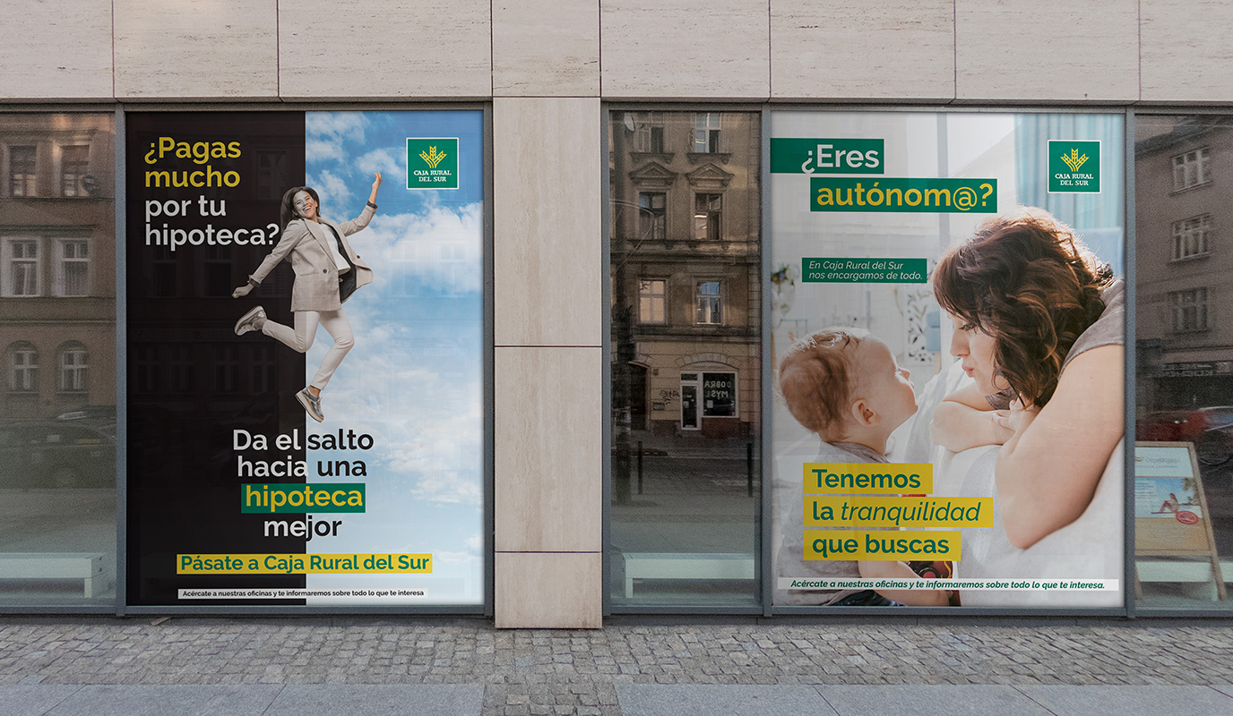 Campaña hipotecas autónomos para Caja Rural - E-commerce