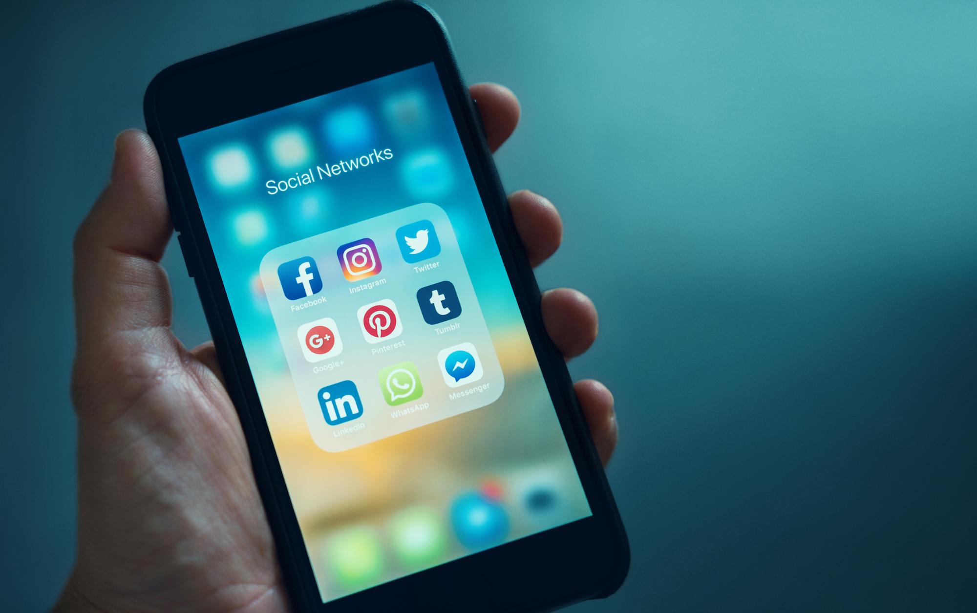 B2B Social Media auf LinkedIn, Facebook, Twitte...