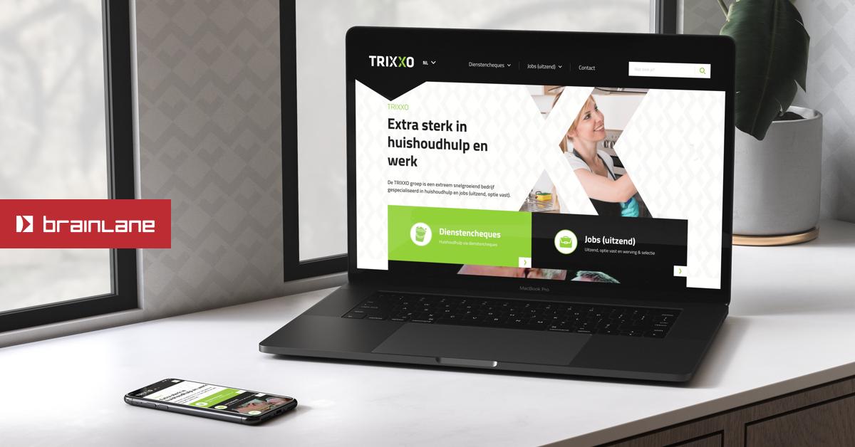 TRIXXO - Website Creatie