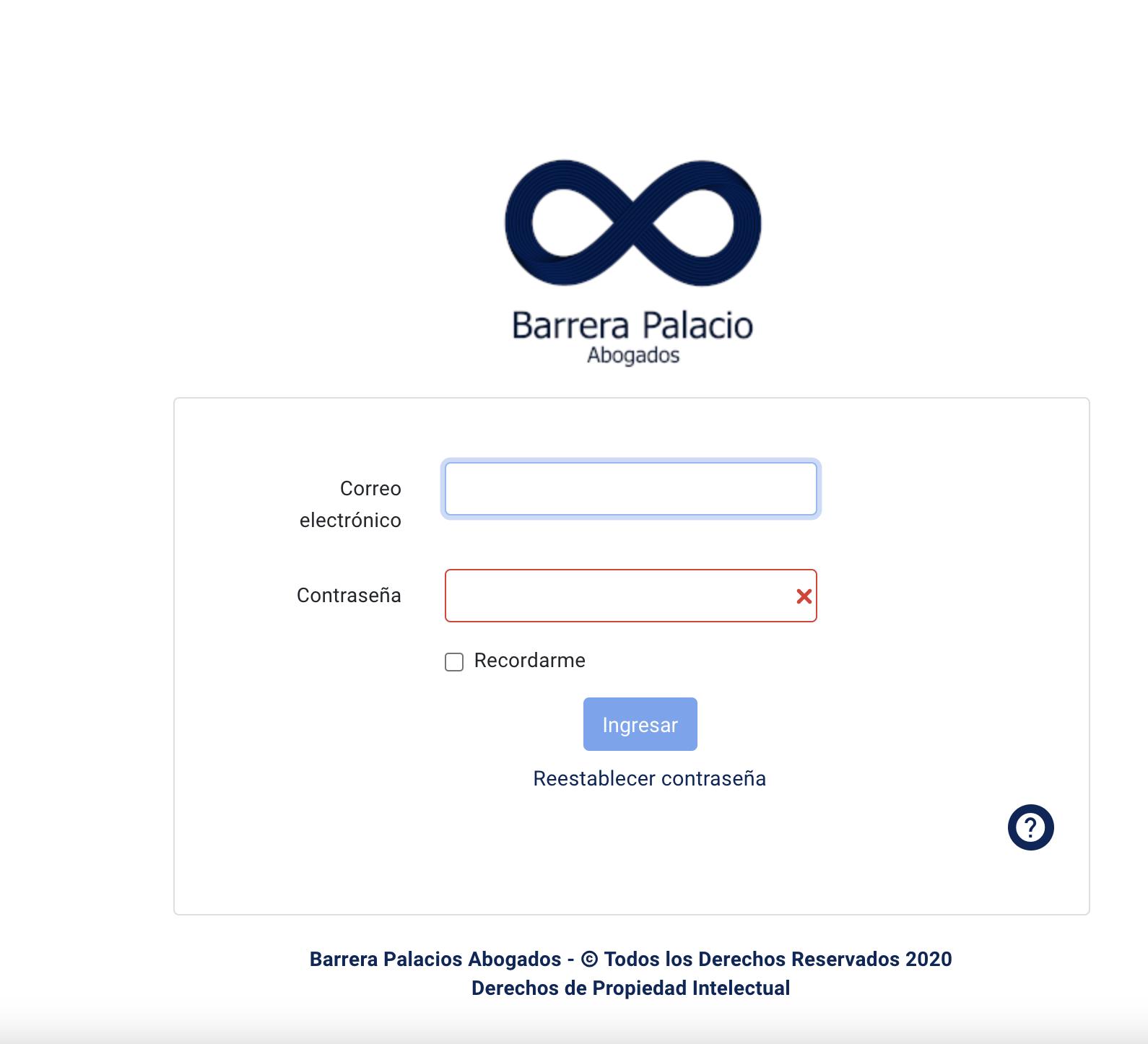 Plataforma Web Auditoria y Riesgo Laboral - Aplicación Web