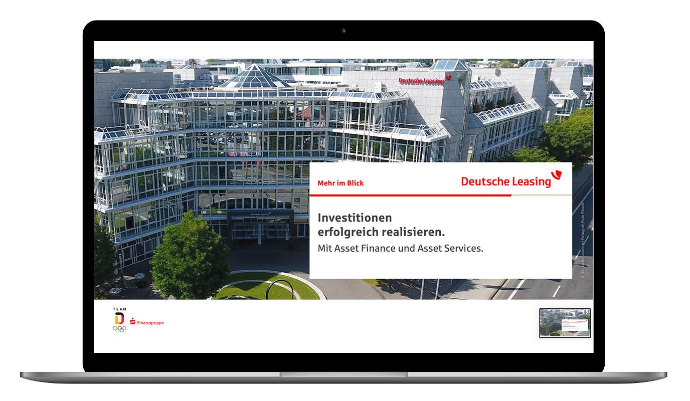 Lead-Agentur Deutsche Leasing - Werbung