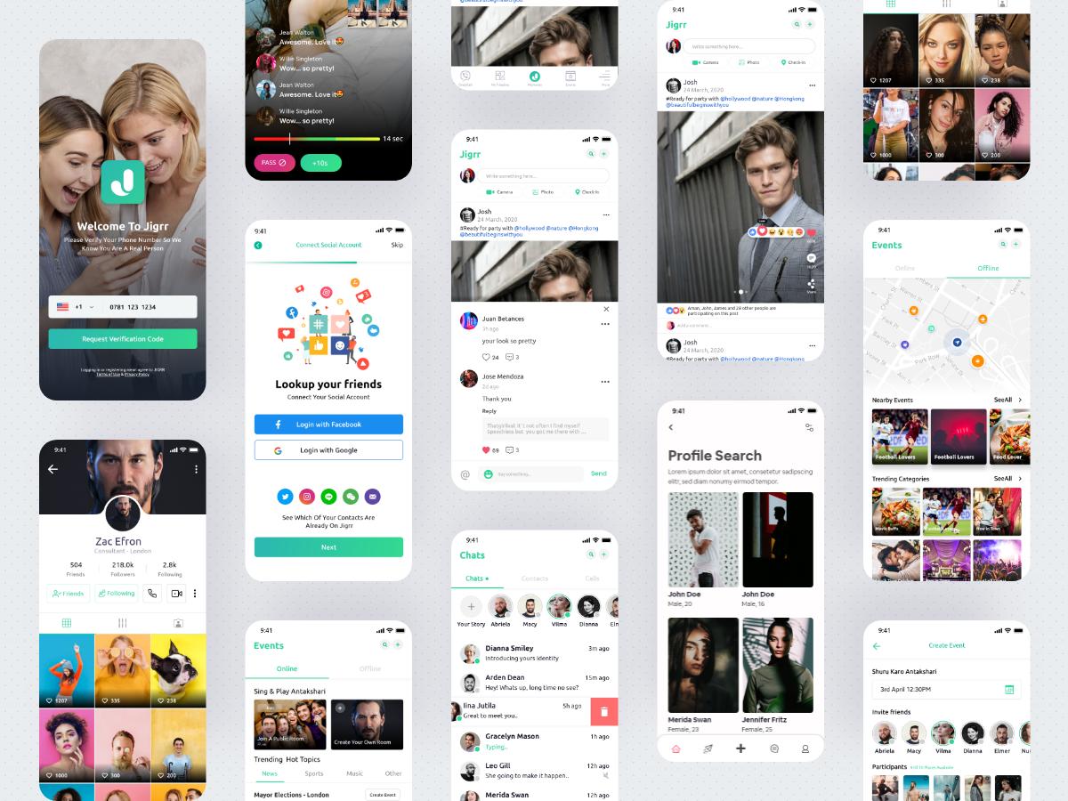 App Design - Mobile App