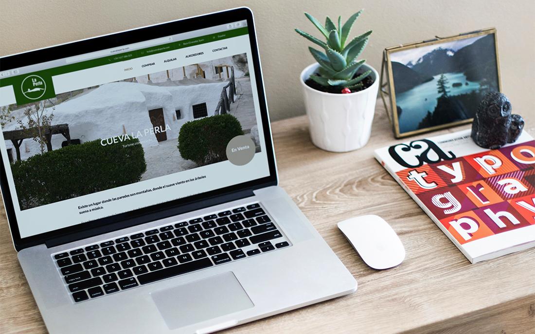 Cueva La Perla Sitio Web y Marketing Digital - Social Media