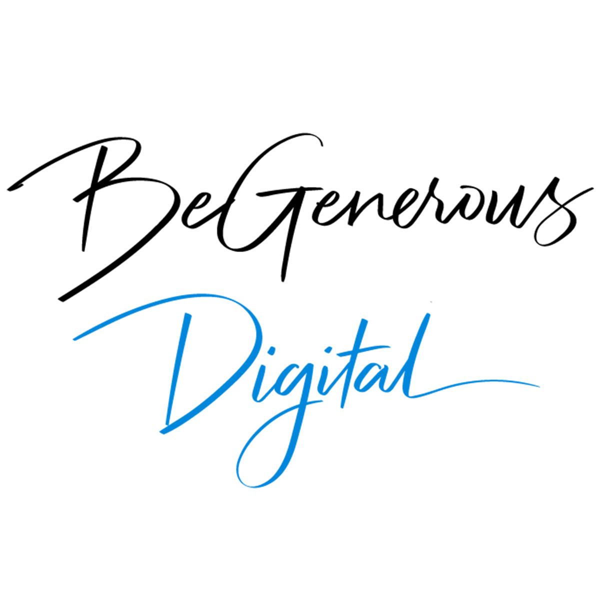 BeGenerous Digital logo