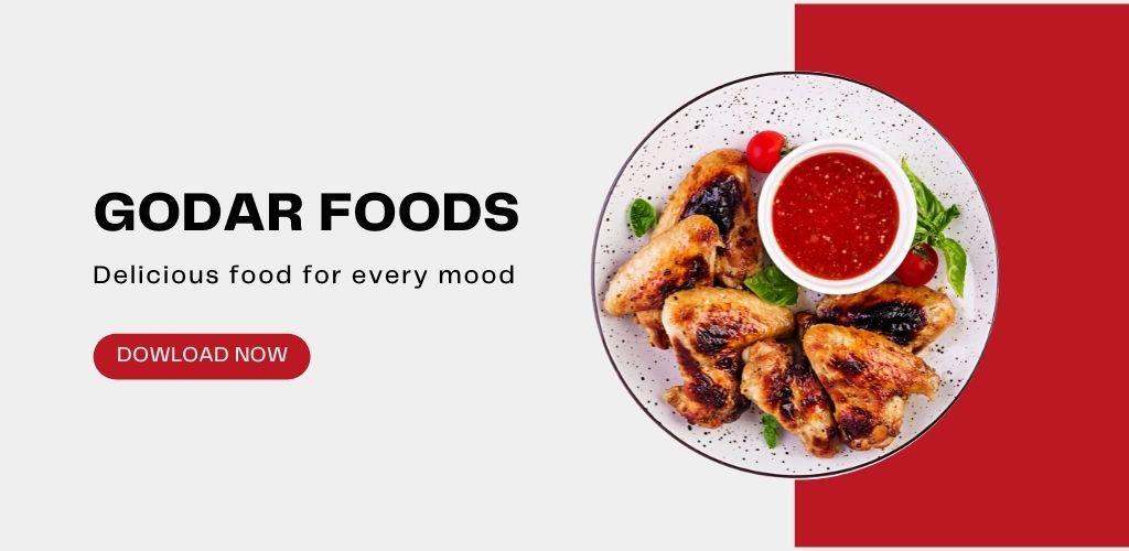 Mobile App Development for Godar Foods - Website Creation