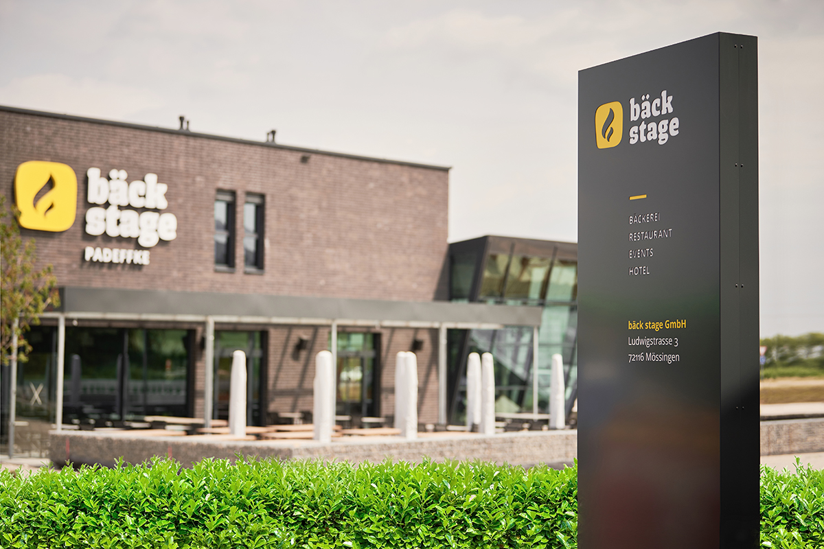 """Markenauftritt und Website """"bäck stage"""" - Branding & Positioning"""