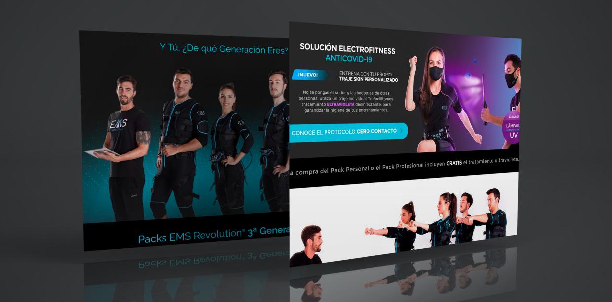 Creación de  sitio web y Diseño sector Tecnología