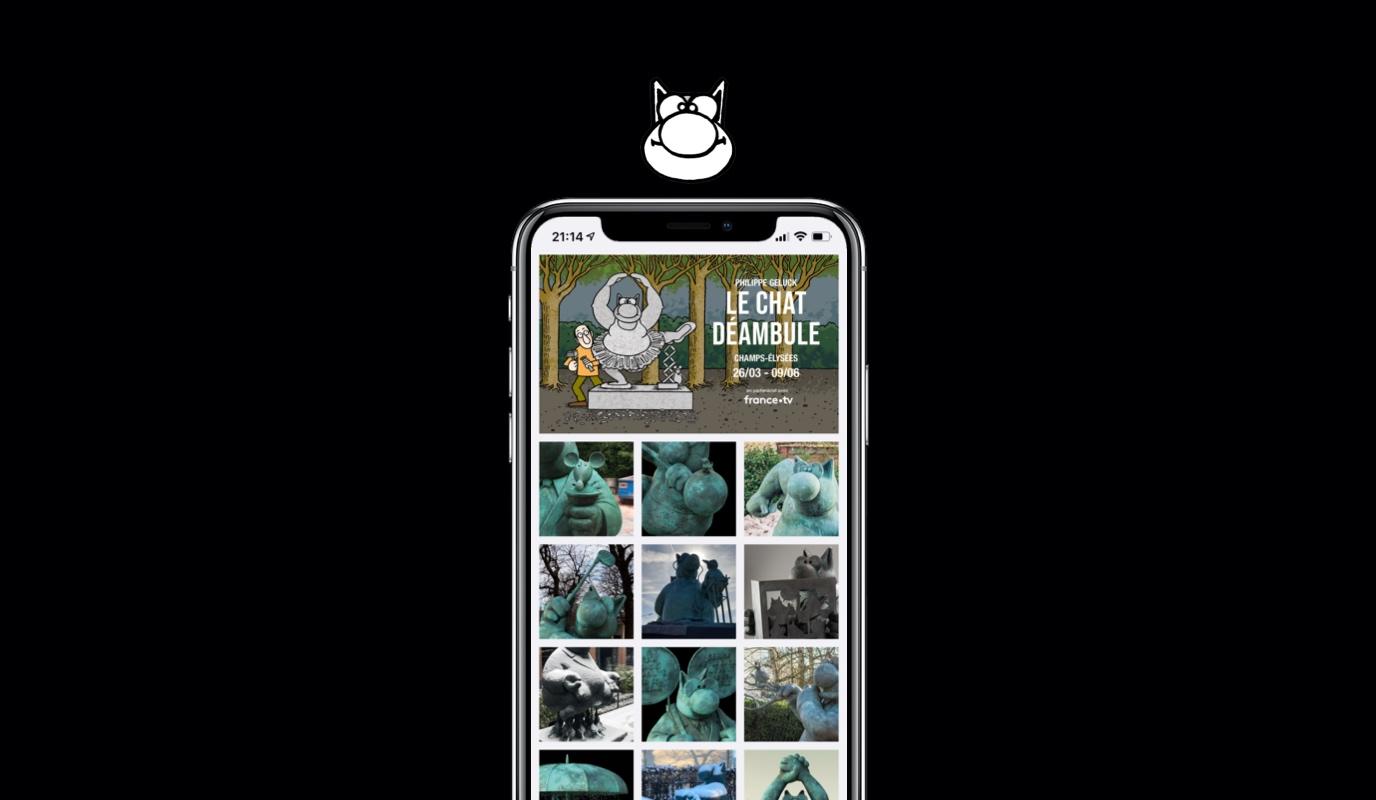 L'expo du Chat 2021 - 2022 - Application mobile