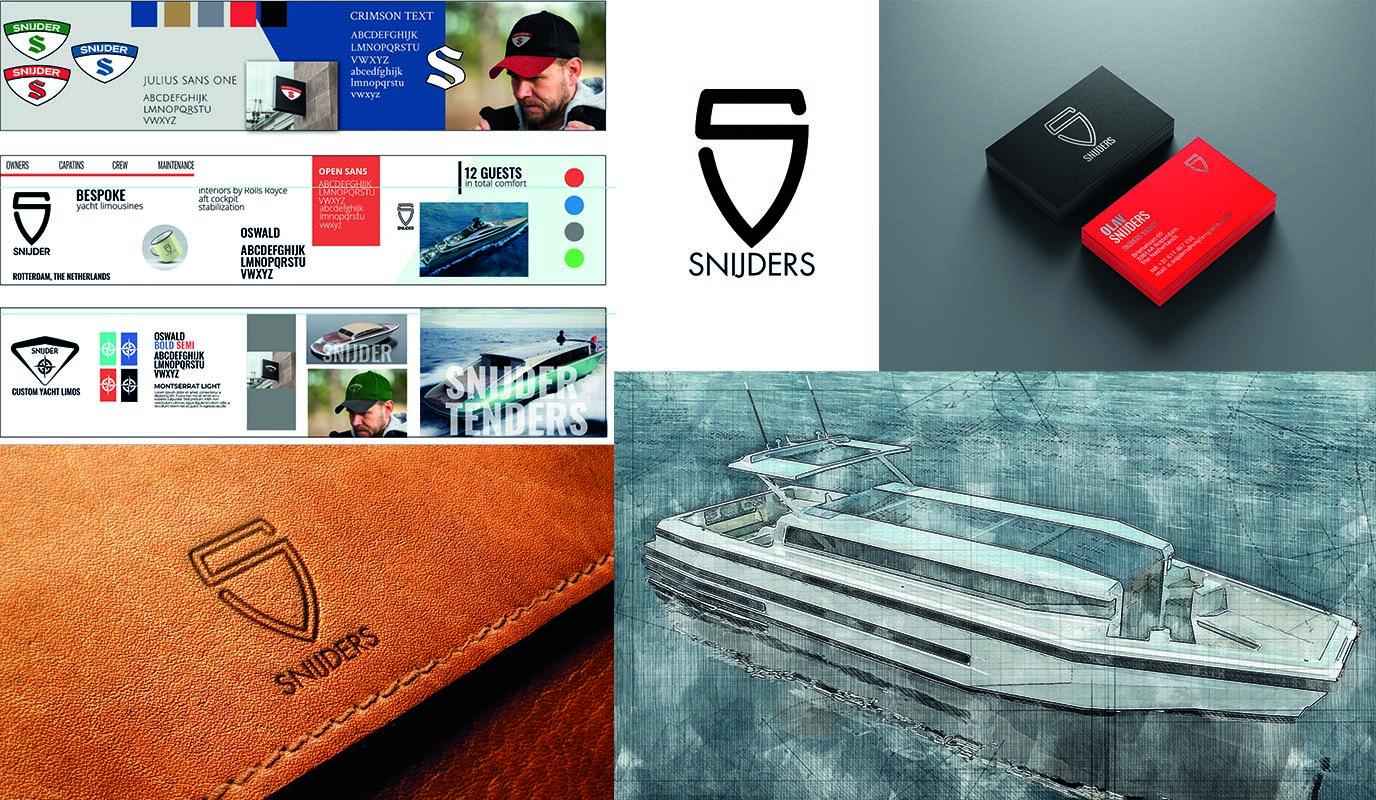 Branding  - Snijders Yachts - Branding & Positionering