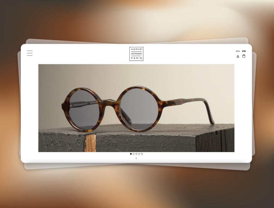 Hervé Domar Paris   Site Web - Création de site internet