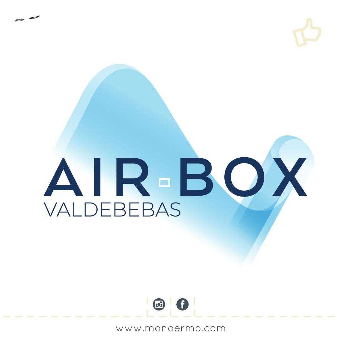 Logotipo Airbox, Promoción Ebrosa - Diseño Gráfico