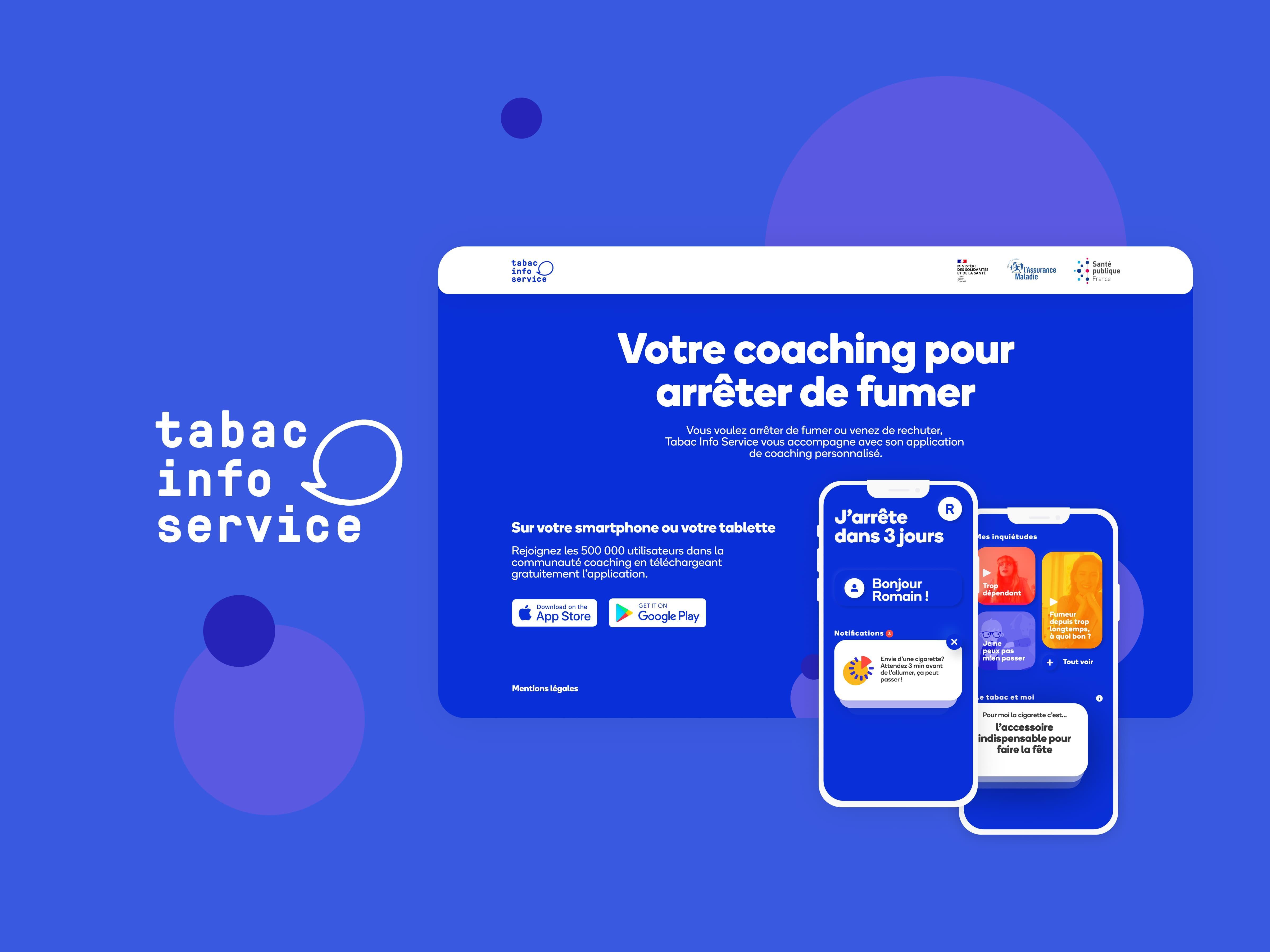 Re-design Application / App gouvernementale - Mobile App