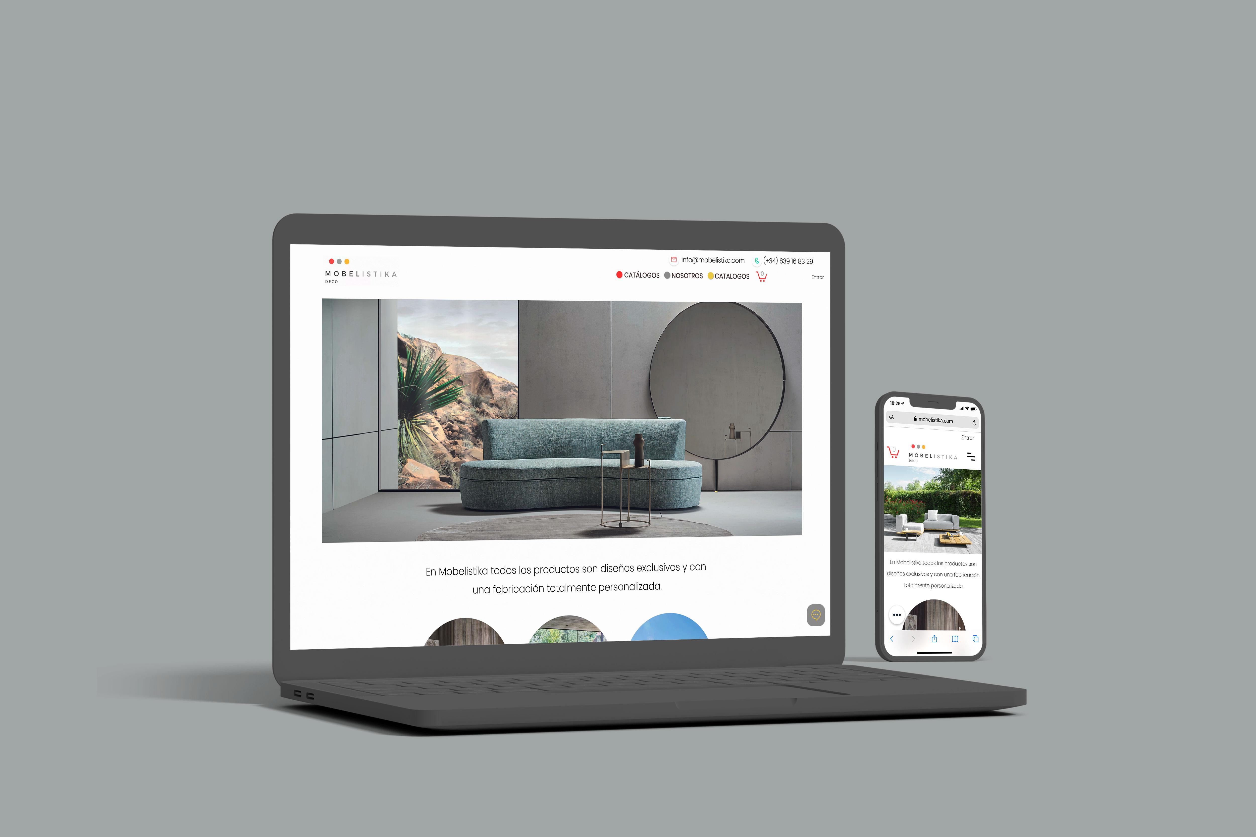 MOBELISTIKA   Rediseño web & Ecommerce - Creación de Sitios Web