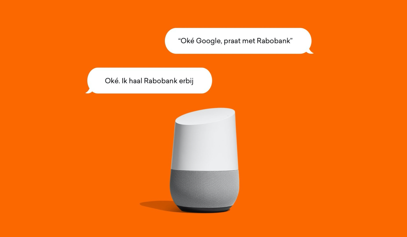 Rabobank: Google Assistant Action - Mobile App