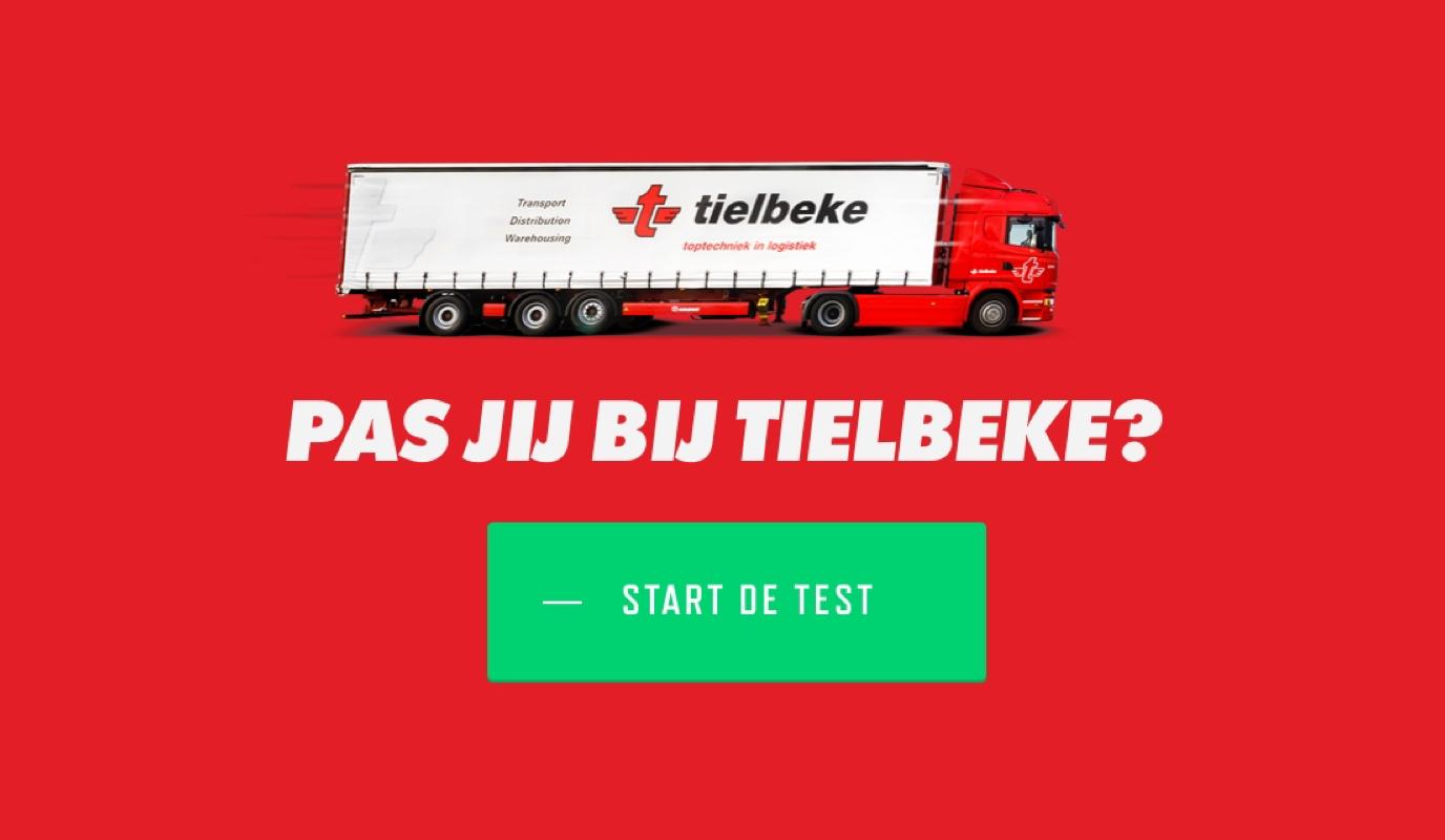 Tielbeke: Employer Branding - Website Creation