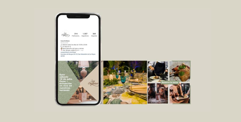 Diseño Redes Sociales - Restaurante