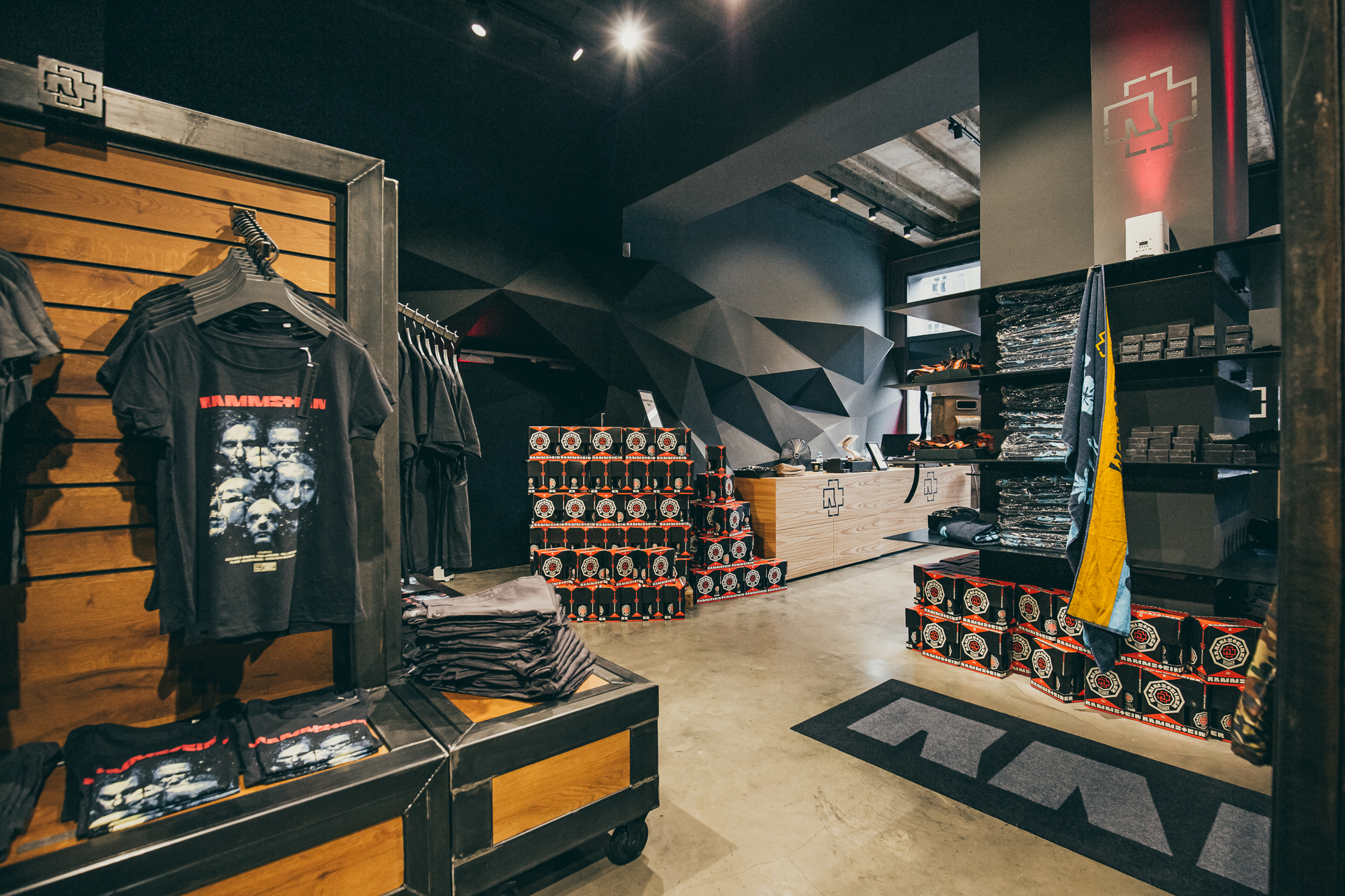 Rammstein   Pop Up-Store - Event