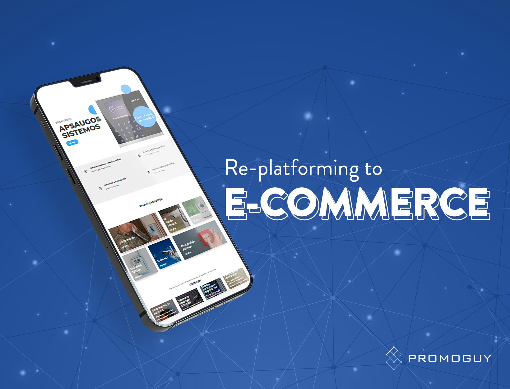 Re-platforming to Ecommerce - E-commerce
