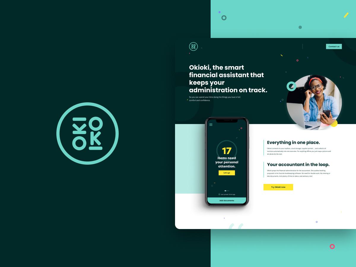 OkiOKi - Web Applicatie