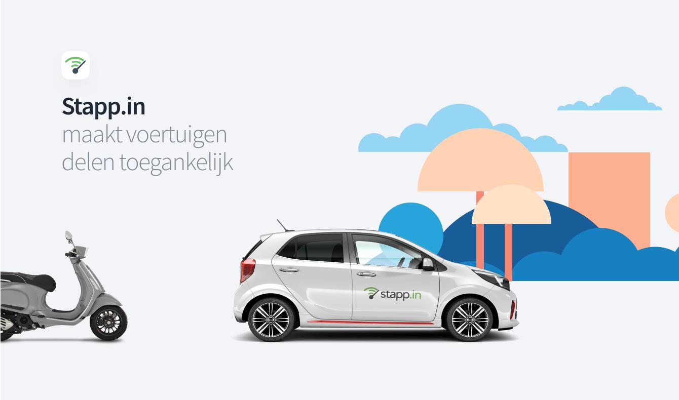 Car Sharing platform Stapp.in - Website Creatie