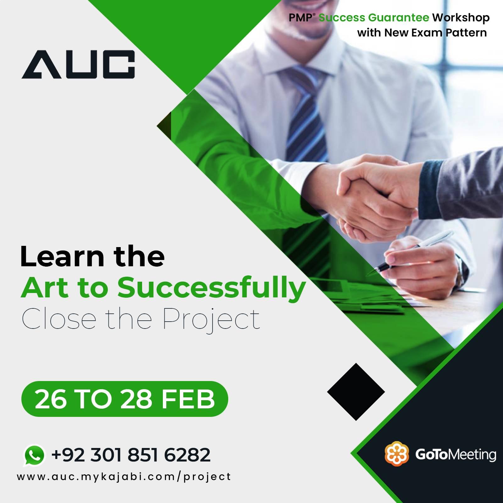 Social Media Marketing AUC Technologies for PMP