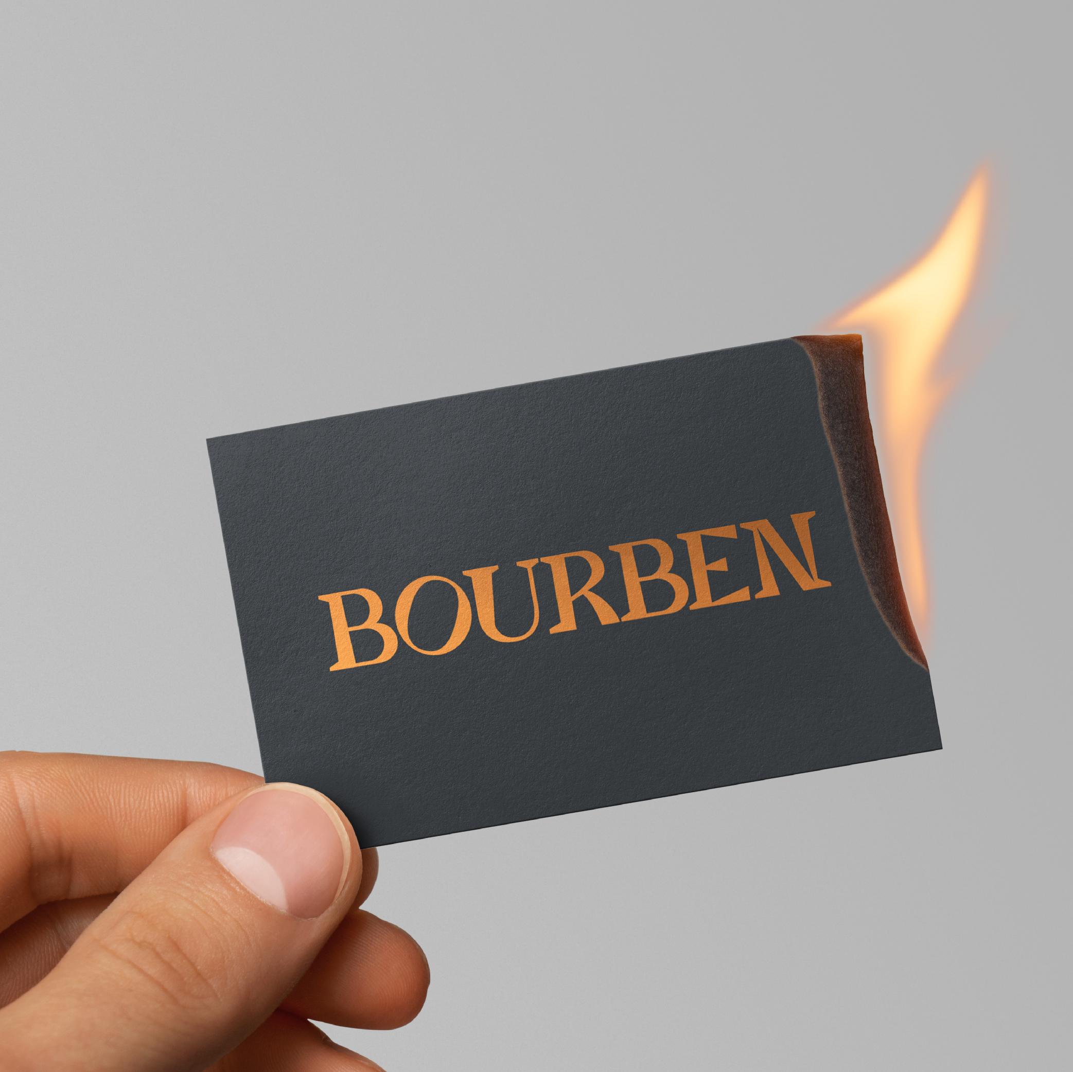Bourben Brand Distillery —  Visual Identity - Markenbildung & Positionierung